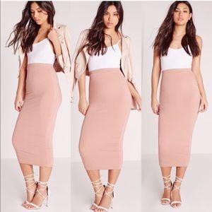 Dresses & Skirts - Midi skirt and KKW gloss bundle